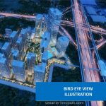 Vasanta Innopark Cibitung Bird Eye View