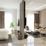 Design 1BR Apartemen Vasanta InnoPark Cibitung