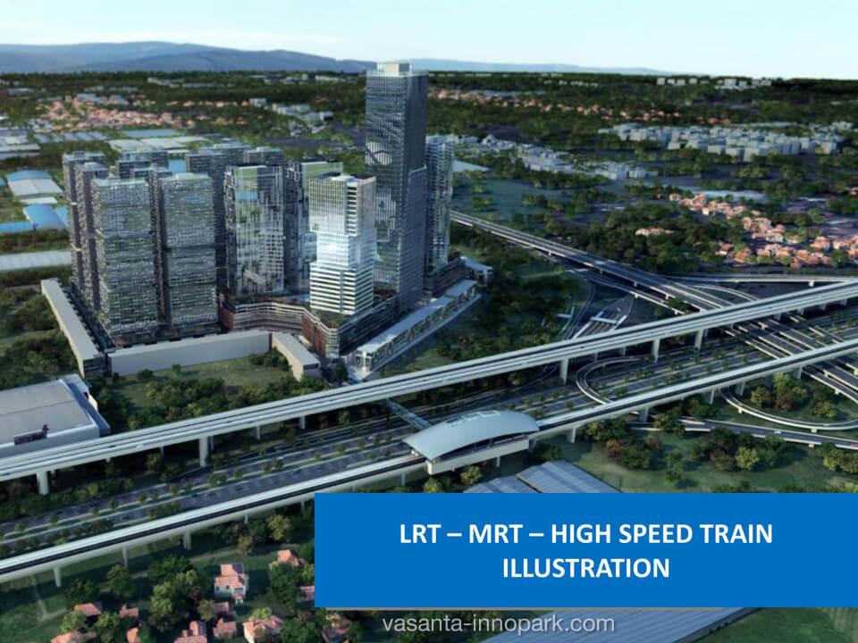 LRT / MRT Vasanta Innopark Cibitung
