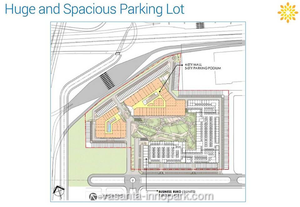 Vasanta InnoPark Cibitung Parkir Lot