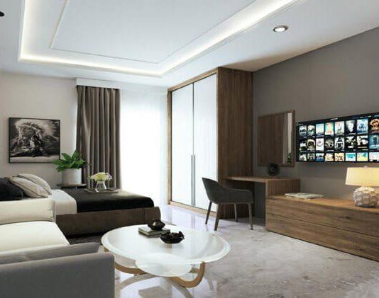Design Interior Apartemen Vasanta Tipe Studio