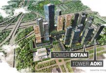 Tower BOTAN dan AOKI Apartemen Vasanta